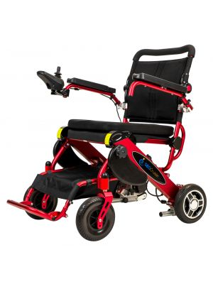 Geo Cruiser DX Compact Foldable Travel Power Wheelchair from Pathway (Temporarily out of stock. Due in mid-February 2021, pre-orders only)