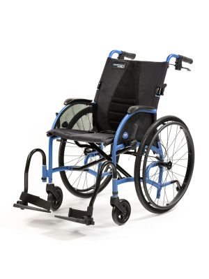 Strongback 24+AB  Folding Manual Wheelchair With Attendant Brakes